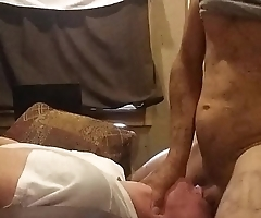 White girl loves giving blowjob
