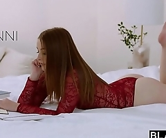 BLACKED Teen Fucks Her Sister&#039_s Boyfriends BBC Behind Her Back
