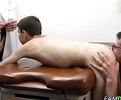 Doctor Fucks Patient In Front Of Step-Dad