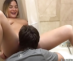 Playing With Sister Blair Williams Pussy And Asshole In Bathroom