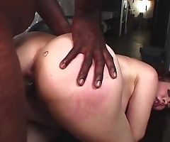 Horny milf proves that she does not only shake her sexy ass dancing but also while taking in a long black cock in to her tight pussy