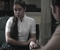 School shrink bangs troubled latina schoolgirl teen
