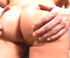 Young slut Nichole Heiress with amazing juicy tits rides stud like a pro