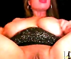 Hot Asian Mom with Huge Tits and Nipples