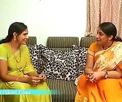 Hot Telugu Aunty Enjoying with his New Boy Friend at Home