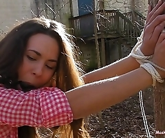 Curious Girl gets Anal!