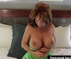 Super Sexy Mommy Deauxma Dildo Bangs Her Pussy &amp_ Cums!