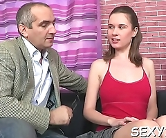 Perverted doggystyle pounding from horny mature teacher