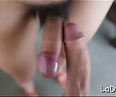 Oriental shemale whore experiences unfathomable and hard ass fucking