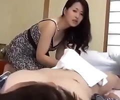 Busty stepmom take care of her son - xfoxxx .com