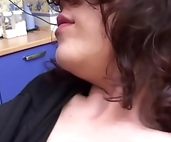 Italian dirty girlfriend. She fucks with her uncle at home when she is alone.