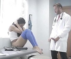Kira had her check up with horny doctor