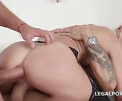 Sex Crazed Alina Long Gets Anal, DP, DAP and Creampie